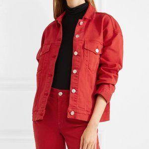 3x1 Denim Jean Jacket Oversized Button Coat